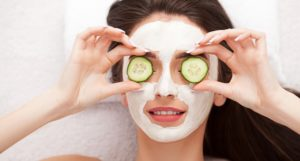 How To Make A Cucumber Mask