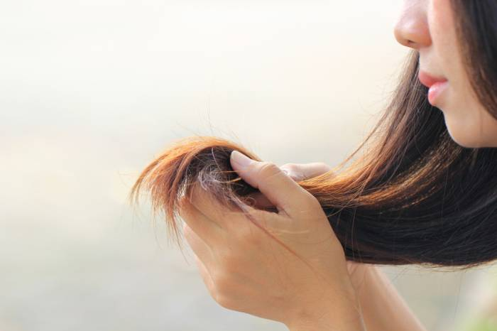 home remedies for split hair